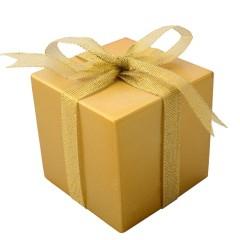 7 cm pakke, guld perlemor