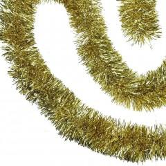 3 meter guld-lametta, eksklusiv kvalitet, Ø15 cm