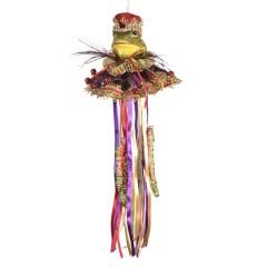 Kongefrø dukke, ornament, 43 cm