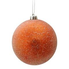 10 cm kugle, frost, orange