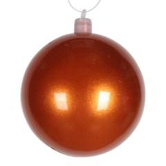 8 cm kugle, perlemor, orange
