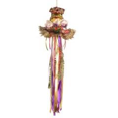 Dronningefrø, dukke ornament, 50 cm