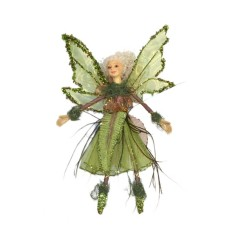 Bregne-fe dukke, 25 cm