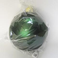 25 cm julekugle, mat grøn