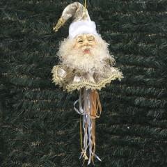 Julemands hoved, ornament, 55 cm