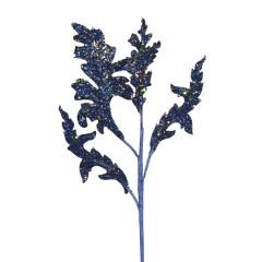 Dekogren, mørk blå med glitter