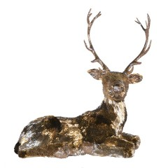 Dyr, han, liggende, 108x59x96 cm