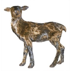 Dyr, hun, stående, 112x45x108 cm