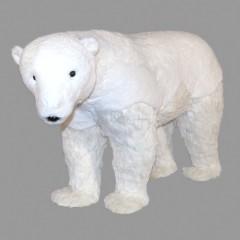 Isbjørn, 90x36x55 cm