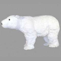 Isbjørn, 60x21x35 cm